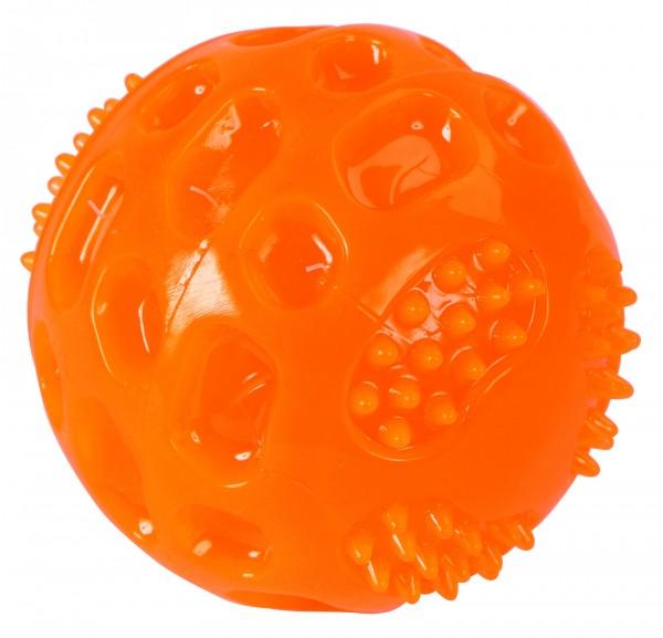 Ball ToyFastic Squeaky, 6 cm, aus thermoplastischem Gummi, extrem robust und bissfest