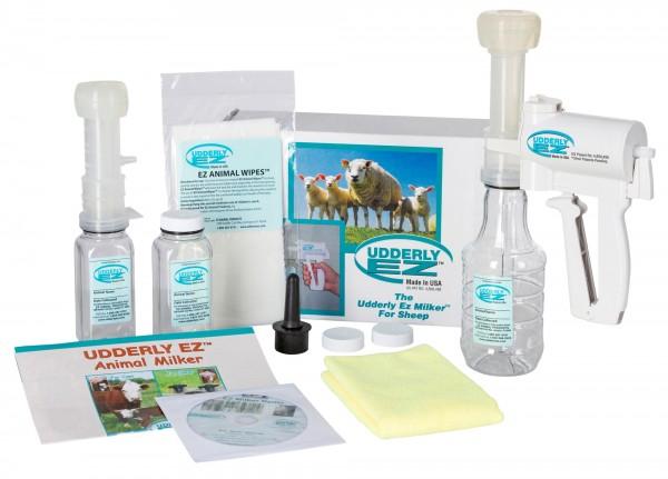 Schafmelkpumpe, Komplett-Set von Tierärzten und Züchtern entwickel