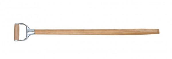 Schaufelstiel aus Esche, mit D-Griff, Länge 95 cm, Durchmesser 40 mm