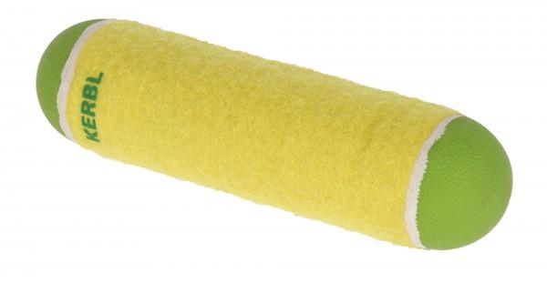 Tennisstab, robustes Hundespielzeug mit Gummifüllung und Tennisballfilz, 3 Stück