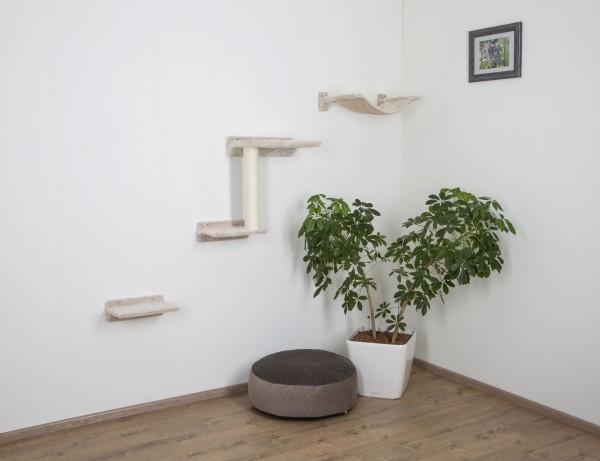 Kletterwand-System Zugspitze für Ihre Katze, 3-teiliger Kratzbaum
