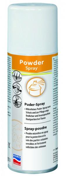 Mikrofeines Puderspray zum Schutz und zur Pflege empfindlicher und beanspruchter Hautpartien