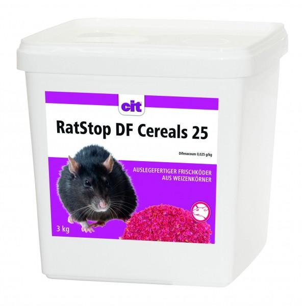 RatStop Rattengift, hochattraktiver Weizenköder zur wirksamen Ratten- und Mäusebekämpfung