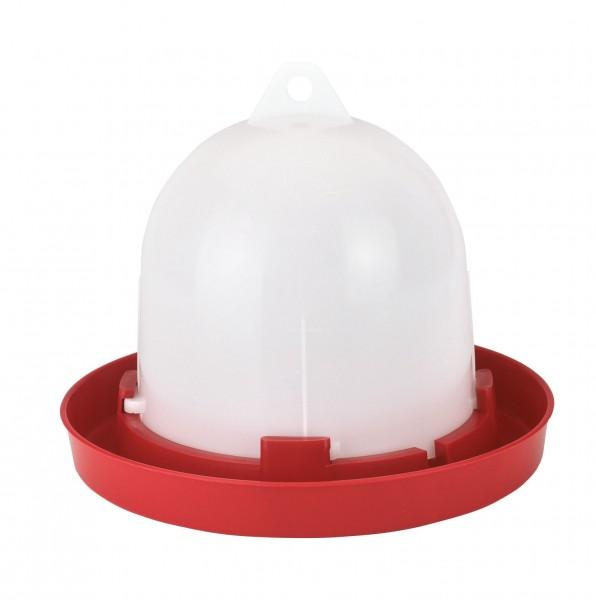 Kunststofftränke original Stükerjürgen für Küken und Hühner in Bodenhaltung, leicht zu reinigen und besonders robust