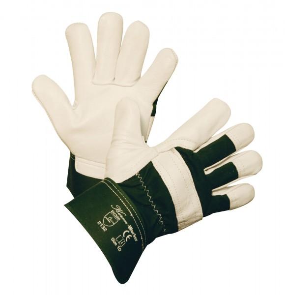 Rindsvollleder-Handschuh Worker, äußerst strapazierfähiger, geschmeidiger Lederhandschuh