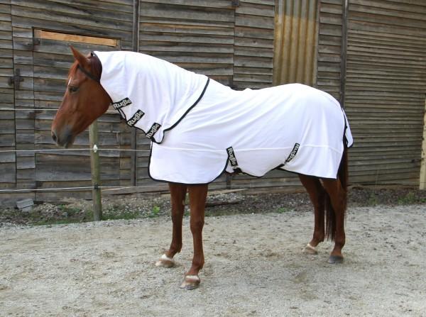 Leichte und robuste Decke aus besonders angenehmem Material für Weide und Paddoc,