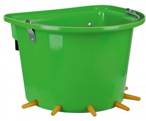 Lammeimer für die Fütterung von bis zu 6 Lämmern, 12 Liter-Eimer aus festem Kunststoff
