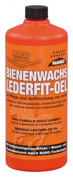 Bienenwachs Lederfit-Öl zur Pflege und Auffrischung von Leder