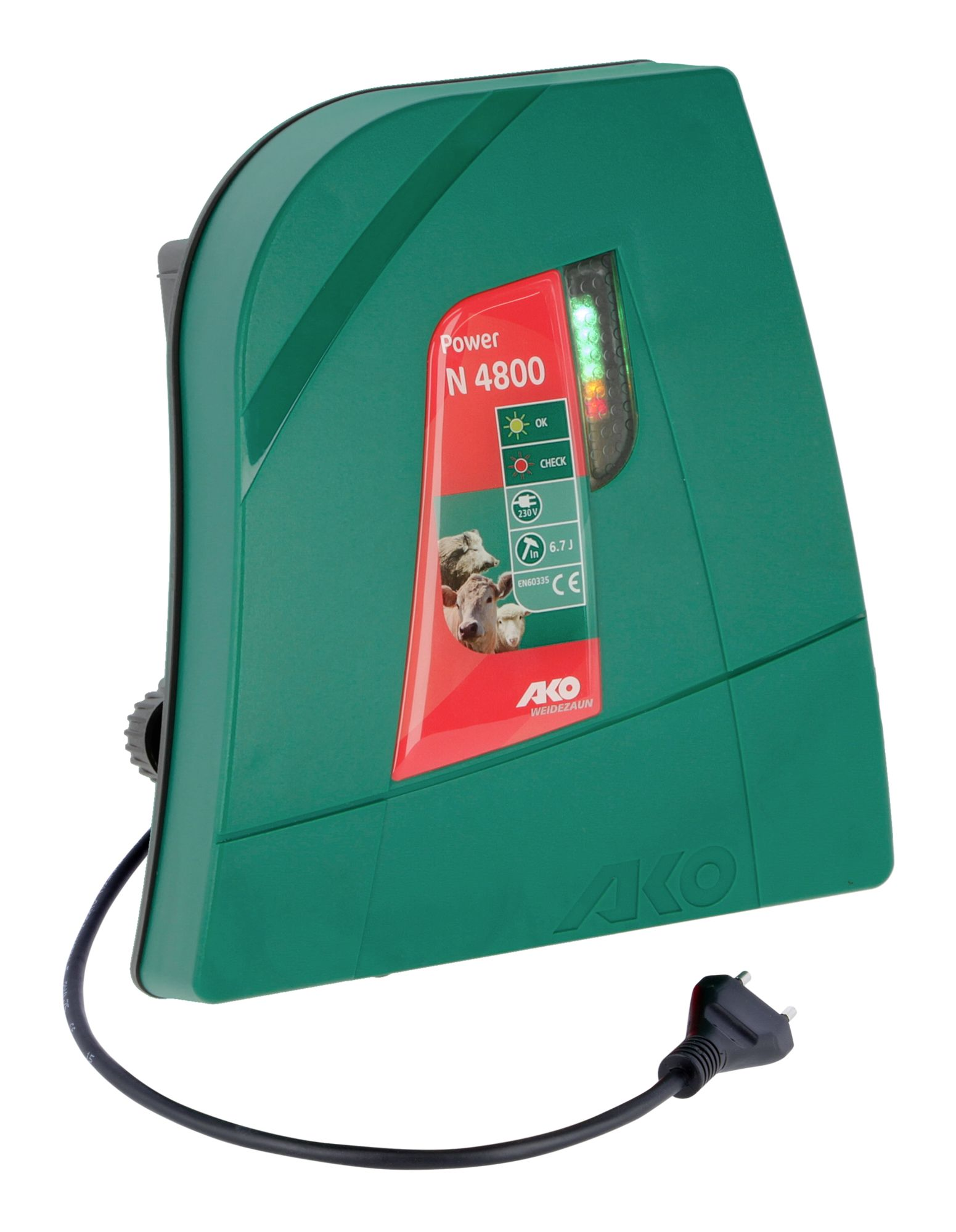 Weidezaungerät Power Profi NDi 6500 digital von AKO 230 V Netzgerät Elektrozaun