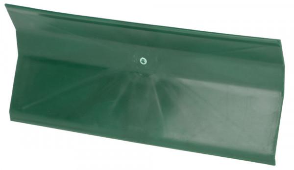 Kot- und Gülleschieber aus Kunststoff, Farbe grün, 35 cm breit