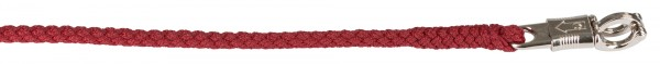Führstrick ca. 200 cm lang, besonders griffig, mit gepflochtenem Seil, Farbe bordeaux