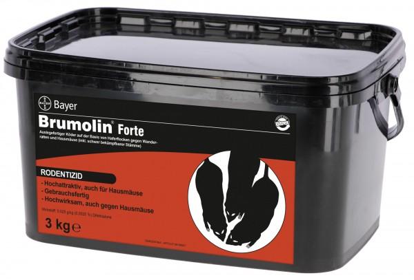Brumolin® Forte* von Bayer, auslegefertiger Frischköder auf Haferflockebasis