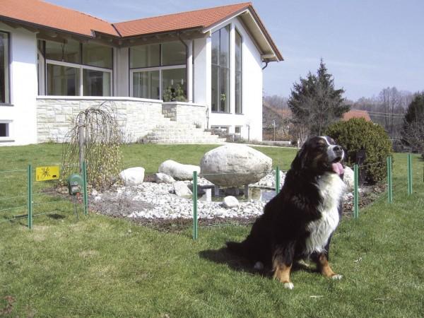 Hobbyset, kleines Weidezaunset z.B. für den Garten zur Einzäunung des Hundeauslaufs
