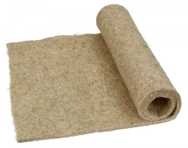 Hanf Nagerteppich, Käfigeinlage aus Naturmaterial, Hanfeinlage in 3 Größen bestellbar