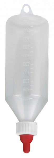 Lämmerflasche, Nuckelflasche für die Handaufzucht von Lämmern, 1 Liter Inhalt