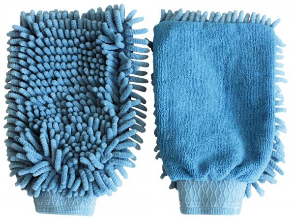 Putzhandschuh aus Microfaser, die Alternative zum gewöhnlichen Putzhandschuh