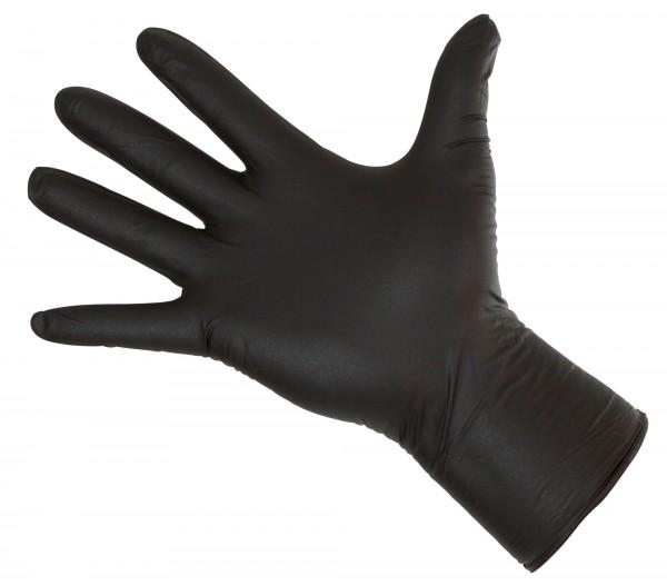 Allzweckhandschuh Nitrile Long Black zum einmaligen Gebrauch, latex-und puderfrei