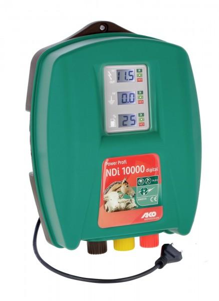 Power Profi NDi 10000digital, AKO Weidezaungerät 230 V Netzgerät Premium