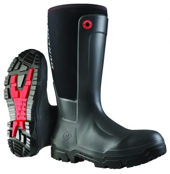 Winterarbeitsstiefel Dunlop, gemäß allen weltweit wichtigen Sicherheitsnormen zertifiziert