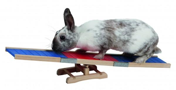 Wippe für Kaninchen und Meerschweinchen, fördert den Bewegungsdrang Ihres Tiere