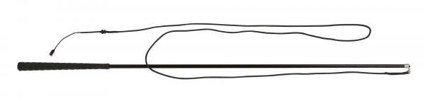 Longierpeitsche zweiteilig mit Steckverbindung, 180 cm lang