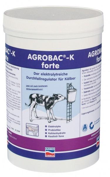 Agrobac®-K-Powder reguliert die Verdauung bei Kälberdurchfall 1000 g Dose