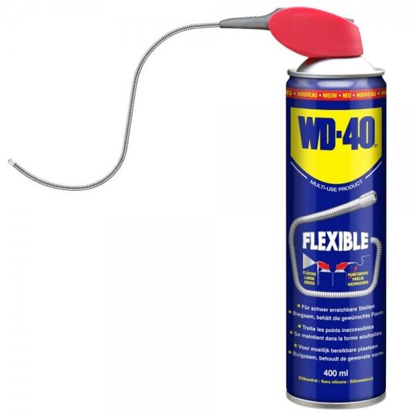 WD-40 Flexible, 400 ml Sprühdose mit flexiblem Metallsprührohr