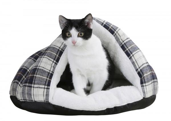 Kuschelige Schlafhöhle Milky für kleine Hunde und Katzen
