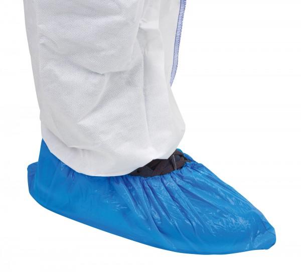 Einmalüberschuhe 100er Packung, Schuhüberzug mit Gummizug, hygienisch und schützender Überzug für Straßenschuhe