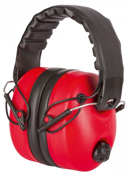 Pegelabhängiger Kapselgehörschutz zur optimalen Kommunikation mit der Umgebung
