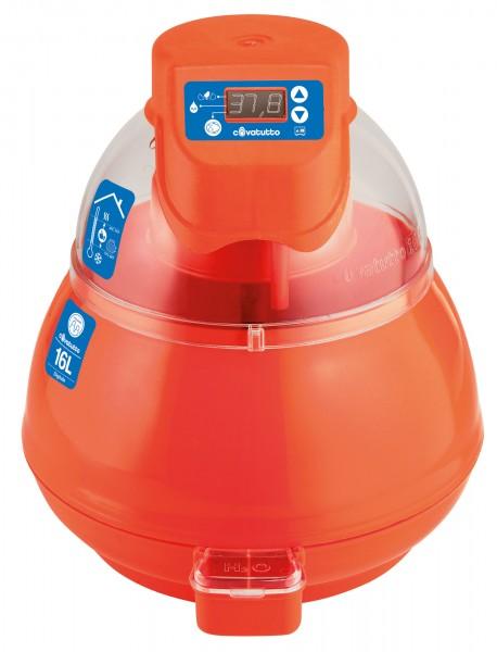 Brutautomat Covatutto 16 L digital, das Einsteigermodell für den Geflügelzüchter für alle Eierarten geeignet
