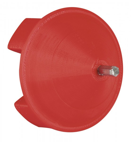 Haspel-Aufrolladapter, Easy-Drill Aufrollhilfe für Weidehaspeln, Aufrolladapter aus festem Kunststoff