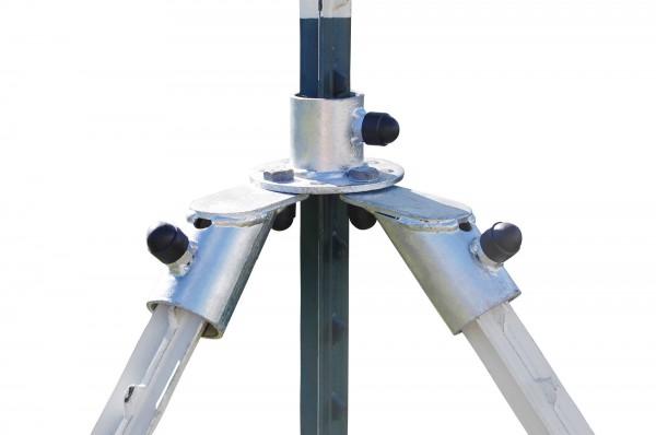 Variables Ecklösungsset T-Post zur Installation einer Ecke mit T-Pfählen