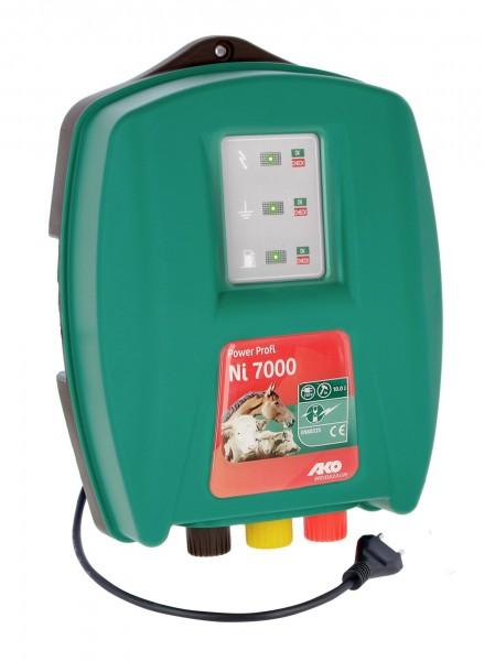 Power Profi Ni 7000 schlagstarkes 230 Volt Netzgerät für lange Zäune und robuste Tiere