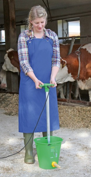 Melk-und Waschürze aus PU, extrem leichte und widerstandsfähige Arbeitsschürze