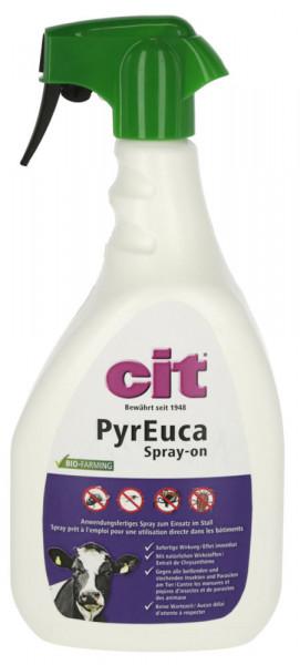 cit Parasitenabwehrspray PyrEuca* effizientes und anwendungsfertiges Repellentspray, 1000 ml
