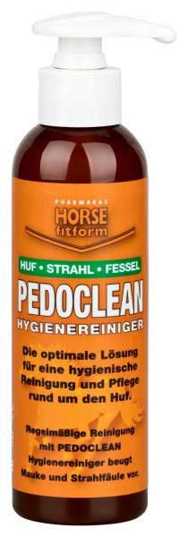 Pedoclean Hygienereiniger für Huf, Strahl und Fessel, reinigt sanft und selbsttätig