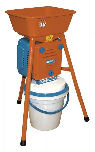 Getreidemühle 550 Watt, Hammermühle mit staubdichtem Eimer, für alle Getreidearten geeignet