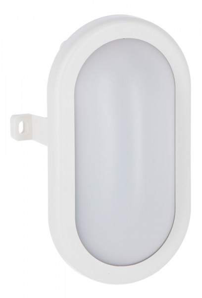 LED-Ovalleuchte als ideale Ausleuchtung von Durchgangsbereichen, Garagen, Kellern etc