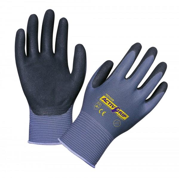 Handschuh Activ Grip Advance, nahtloser Feinstrickhandschuh aus Nylon