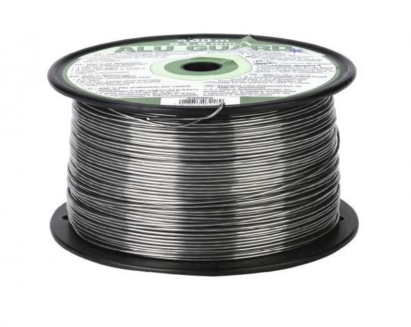 Weidezaundraht aus Aluminium mit sehr hoher Leitfähigkeit, Durchmesser 1,6 mm