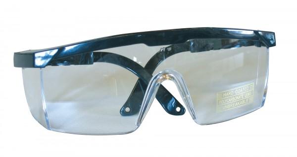 Schutzbrille zum Schutz gegen starke Stoßbelastungen durch Projektile oder Partikel