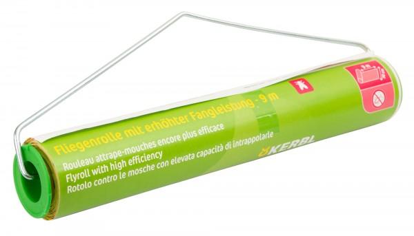 Fliegenrolle, Fliegenfänger mit Lockstoff für 100% Wirkung, giftfrei für Biobetriebe zugelassen