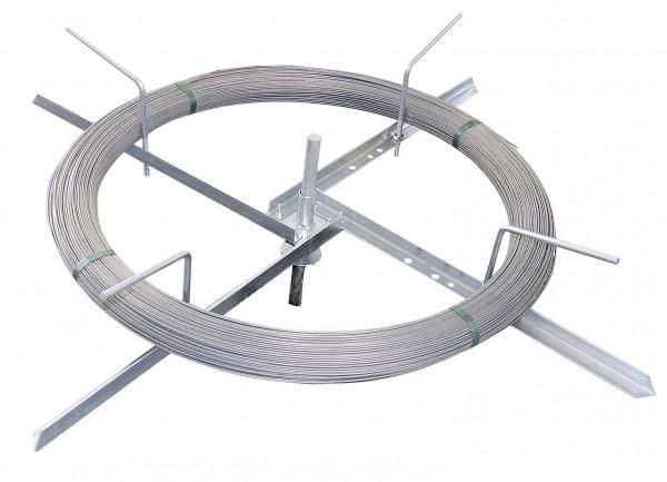Drahtabroller verzinkt, kleine Ausführung auch für Horse Wire geeignet