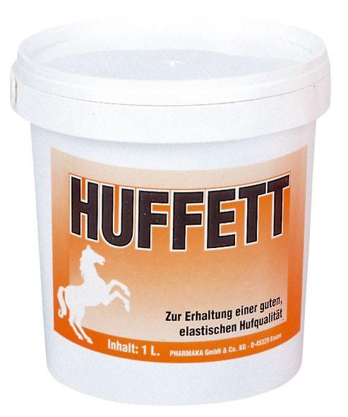 Huffett mit pflegendem Rapsöl und Vaseline, schützt Ihr Pferd vor spröden, rissigen Hufen