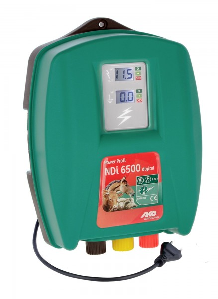 Power Profi NDi 6500 digital ausgelegt für robuste Tierarten und lange Zäune mit Bewuchs