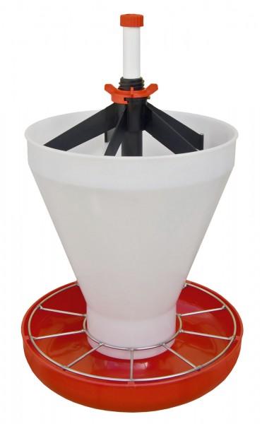 Ferkelschale Maxi Hopper Pan mit 10 Futterplätzen und Trichter
