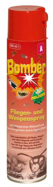 Fliegen- und Wespenspray Bomber* zur effektiven Bekämpfung von Wespennestern