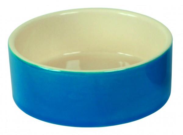 Keramiknapf als Wasser- oder Futternapf verwendbar, sehr standsicher