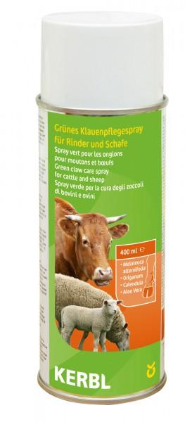 Grünes Klauenpflegespray für Rinder und Schafe zur täglichen Klauenpflege